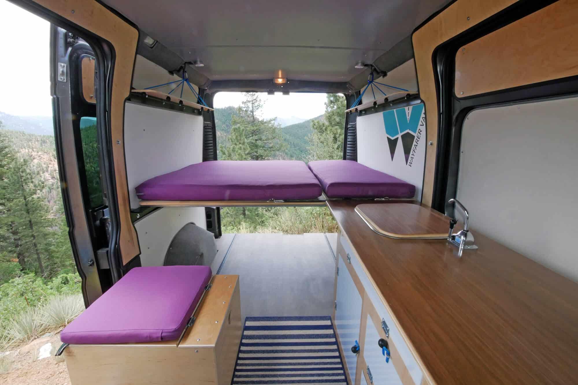 RAM Promaster Camper Van Conversion Kit Bed Day Lounger Garage