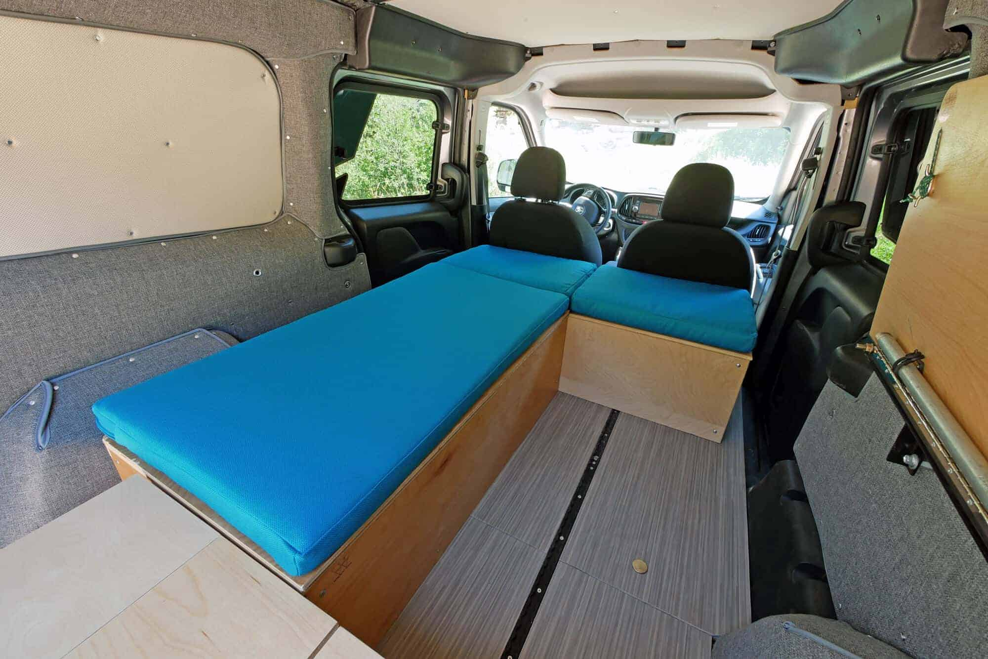 Ford Transit Campervan Floor Plans