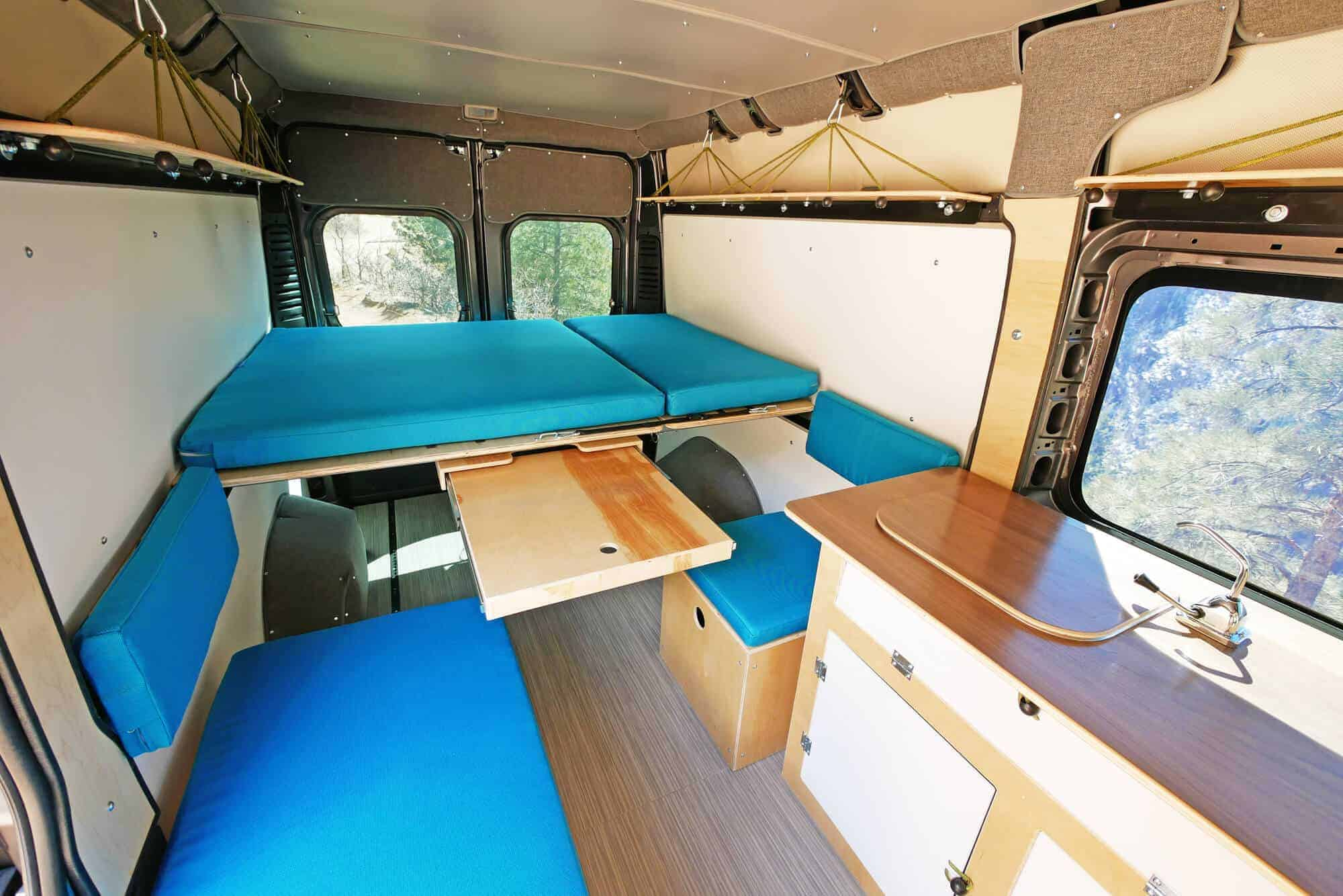 Walt Camper Van Conversion Kit Ram Promaster 159