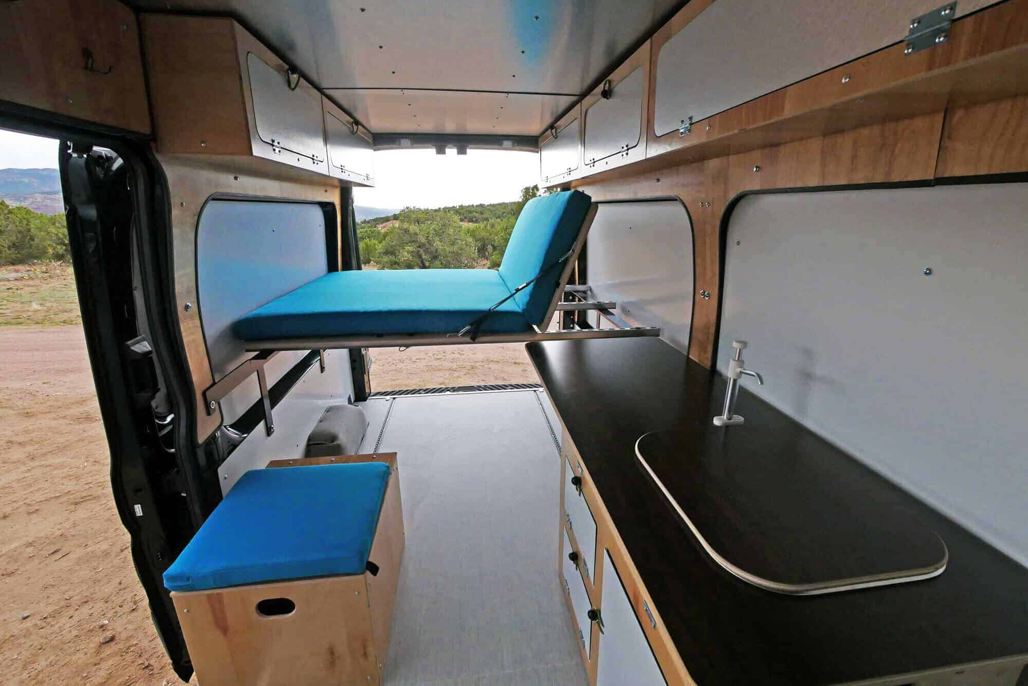 Wilford Camper Van Conversion For Ford Transit 148 High Roof